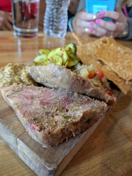 Soft, delightful head cheese