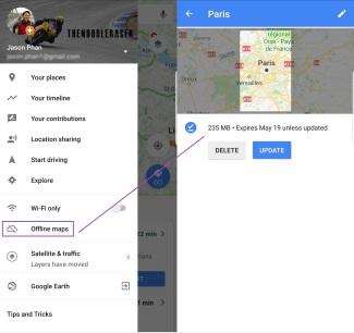 Google Maps offline has been a life saver.
