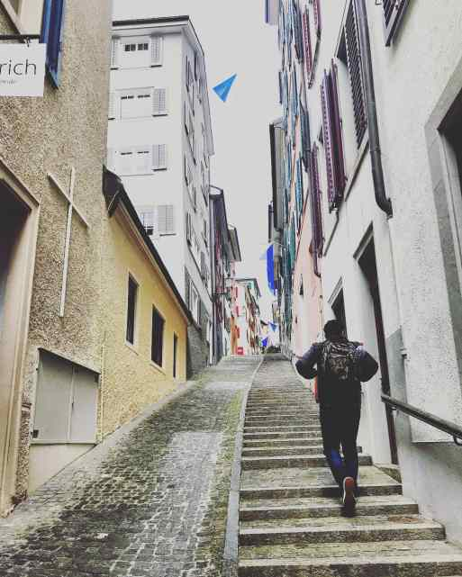 Side Streets of Zurich