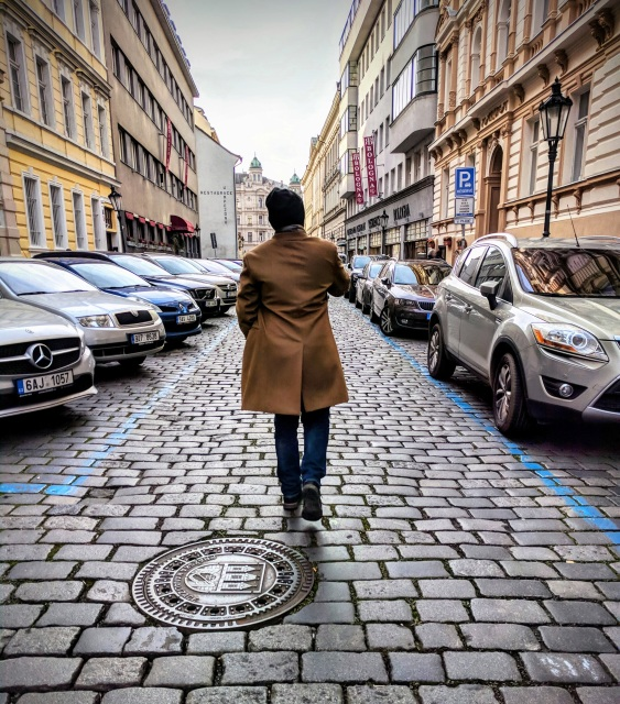 Cobblestone Paths in Prague