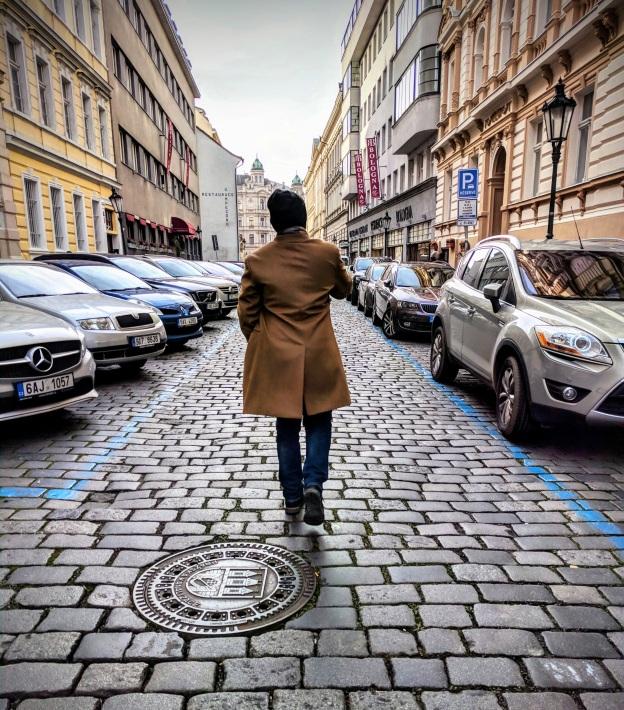 Cobblestone Paths in Prague