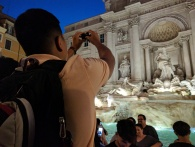 Trevi Fountain, Rome, Italy 2017