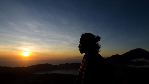 Summit of Mount Batur > Bali >