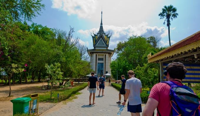 Entrance to the Killing Fields, Phnom Penh > TheRoamingNoodle