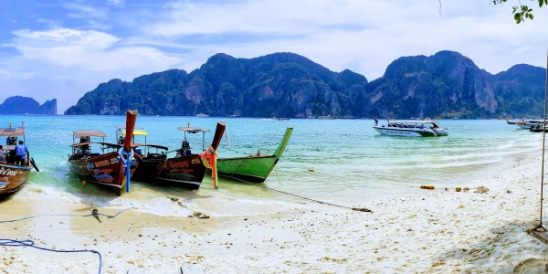 Long Tail Boats > Koh Phi Phi, Thailand > TheRoamingNoodle